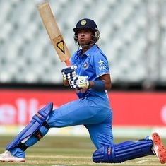 Harmanpreet Kaur joins Mithali Raj in top-10 of ICC women's batting charts