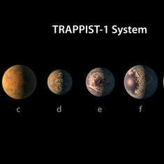 Astronomers discover seven Earth-sized planets that could support life