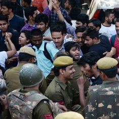 Ramjas College: Delhi Police register rioting case after ABVP-AISA clash