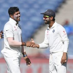 Cricket: Australia post 256/9 on Day 1 of first Test against India