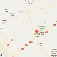 Syria: Islamic State car bomb kills at least 41 at al-Bab security checkpoint