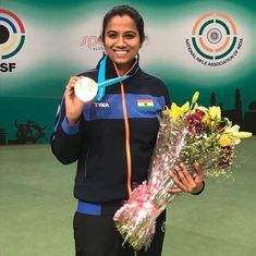 Meghana Sajjanar tops women's 10m air rifle qualification table, Pooja Ghatkar also makes cut
