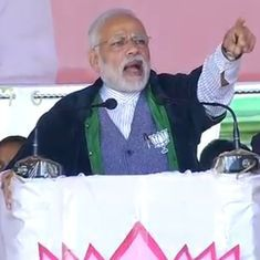 Manipur will never face an economic blockade under BJP rule, promises Narendra Modi