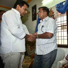Kansas shooting: Telangana minister KT Rama Rao meets victim's family in Hyderabad