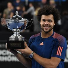 Jo-Wilfried Tsonga beats compatriot Lucas Pouille to lift third Marseille Open title