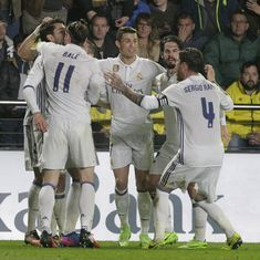 Real Madrid back on top of La Liga table with late comeback against Villarreal