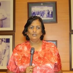 Shantha Rangaswamy, Indian cricket's first woman, finally gets her due