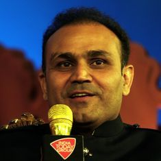 Making a name in cricket isn't easy in this environment, says Virender Sehwag