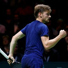 David Goffin pulls out of Wimbledon due to ankle injury suffered at French Open