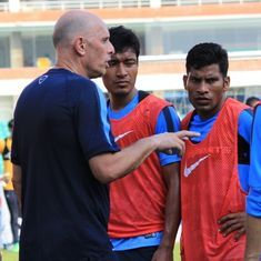 Assembling an U-23 side in matter of days difficult, rues India football coach Stephen Constantine