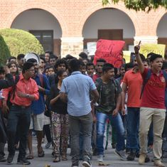 St Stephen's College students protest administration's 'autocratic' decision to apply for autonomy