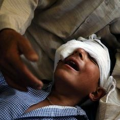 The Kashmir government speaks of a relief policy for pellet victims. But what exactly is it?