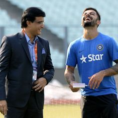 Sourav Ganguly advises Virat Kohli to 'forget' the acrimony with Australia