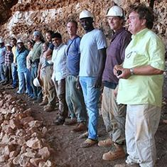 The fantastic nine of Libya: These archaelogists dodged ISIS threat to dig up an ancient cave