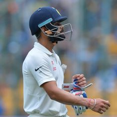 'Virat Kohli – King of Leaves': Twitter has a laugh as the Indian skipper leaves a straight one