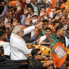 The big news: Supporters cheer as PM begins UP polls road show in Varanasi, and nine other stories
