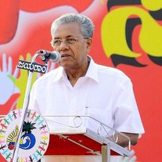 Pinarayi Vijayan condemns Congress worker's murder – but his colleague is attempting to justify it