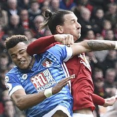 Bournemouth's Tyrone Mings handed five-match ban for stamping on Zlatan Ibrahimovic