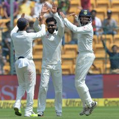 Australia end Day 2 of Bengaluru Test at 237/6, with a lead of 48 runs over India