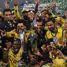 Peshawar Zalmi beat Quetta Gladiators to win Pakistan Super League final in Lahore