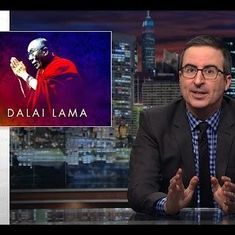 """He is the original woke bae"": Watch John Oliver educate the US on the Dalai Lama and Tibet"
