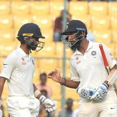 Pujara and Rahane belie poor form, allow India to breathe easy for once against Australia