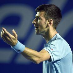 David Goffin upsets Novak Djokovic to reach semi-finals of the Monte Carlo Masters