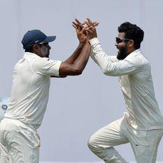 अश्विन-जडेजा का नया रिकॉर्ड, टेस्ट में शीर्ष स्थान हासिल करने वाली स्पिनरों की पहली जोड़ी बनी