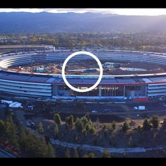Watch: Only a drone can reveal how the work is progressing on Apple's new spaceship-like campus