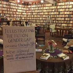 Watch: How would a bookshop look if only books by women were visible? The gender gap is alarming