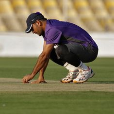 MS Dhoni pays surprise visit to check Ranchi wicket ahead of third India-Australia Test