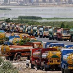 In Chennai, a tanker strike spells the beginning of a water crisis even before summer has set in