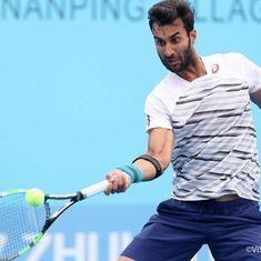 Yuki Bhambri progresses to Zhuhai semis, his first on the ATP Challenger tour this season