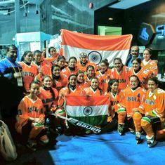 Indian women's ice hockey team creates history, beats Philippines to register first ever victory