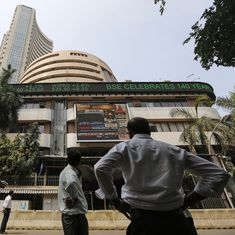 BSE Sensex closes 80 points down, Nifty below 9,600 for first time since May 26
