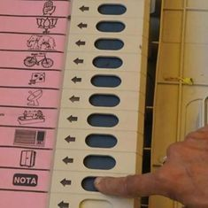 Over 5.5 lakh voters chose 'None of the Above' in Gujarat, results show
