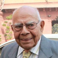 'Iconic public figure, finest lawyer': Tributes pour in as Ram Jethmalani dies at 95