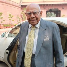 Veteran lawyer Ram Jethmalani announces retirement, calls BJP's rule a 'calamity'