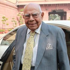'I am convinced you have lost your mind', Ram Jethmalani tells Calcutta HC Justice Karnan