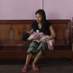 Why has infant mortality risen in Mizoram even as it has fallen everywhere else?