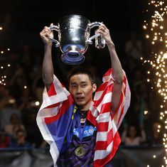 Lee Chong Wei eases to fourth All England Open title after crushing China's Shi Yuqi in final