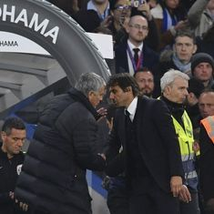 Mind your business, says Antonio Conte after Jose Mourinho's injury jibe