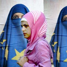 Employers are free to ban Islamic headscarves at the workplace, rules top European Union court