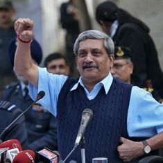 Manohar Parrikar takes oath as 13th chief minister of Goa, floor test in two days