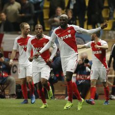 Champions League: Monaco pip Manchester City via away goals to go through to the quarters
