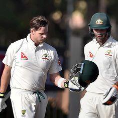 India vs Australia: Steve Smith, Glenn Maxwell put focus back on cricket on Day 1 of 3rd Test