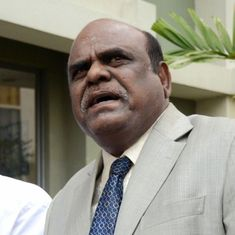Justice Karnan 'sentences' CJI, seven other Supreme Court judges to five years in prison