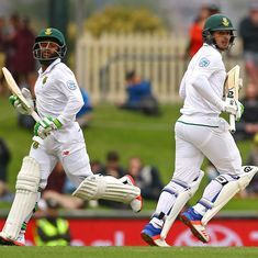 Quinton de Kock, Temba Bavuma steer South Africa to position of strength against New Zealand