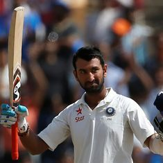 India v Australia: Cheteshwar Pujara was the wall that kept Australia out on Day 3 in Ranchi