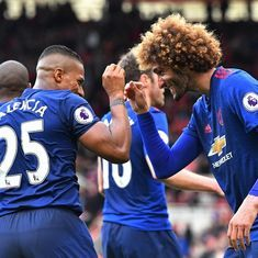 Premier League: Manchester United see off late Middlesbrough resurgence to win 3-1